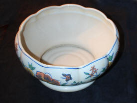 Italian Large Earthenware Bowl Glazed Ceramic Renaissance Bowls