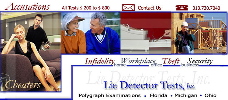 polygraph test results. and Lie Detector Testing